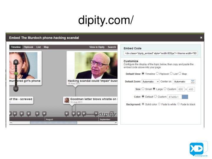 dipity.com/