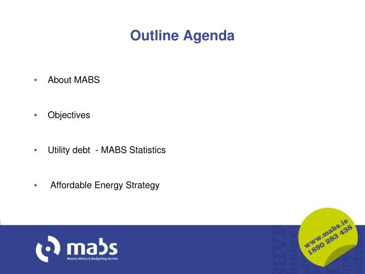 Outline Agenda