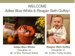 welcome adlee blue whitis reagan beth guffey