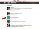 nces school search