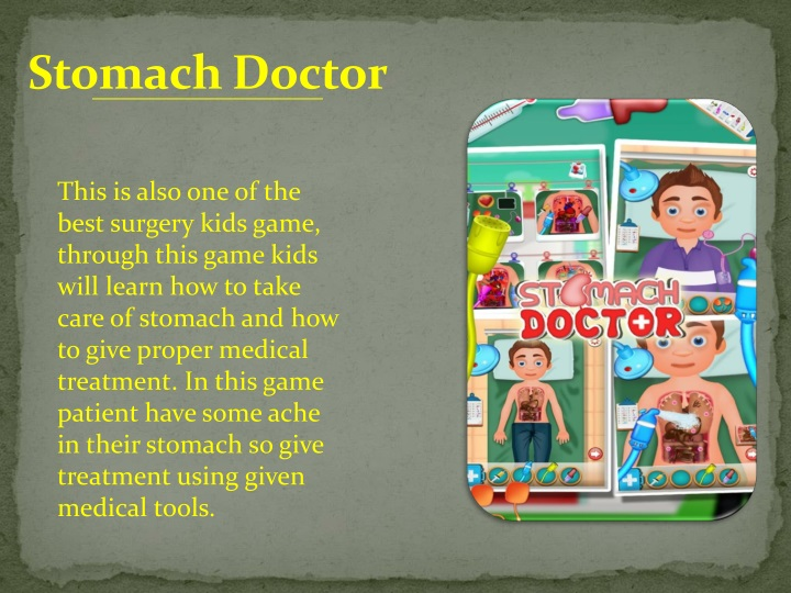 Stomach Doctor