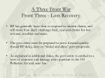 a three front war front three loss recovery