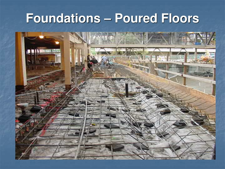 Foundations – Poured Floors