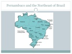 pernambuco and the northeast of brazil