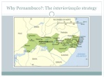 why pernambuco the interioriza o strategy