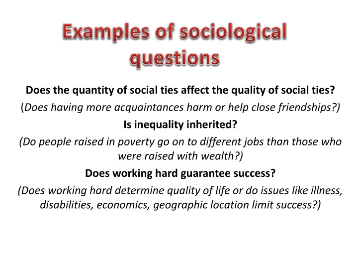 evaluate sociological explanation of the relationship Both the evidence of and the sociological explanations for the content listed in the topic  the relationship of the family to the social structure and.