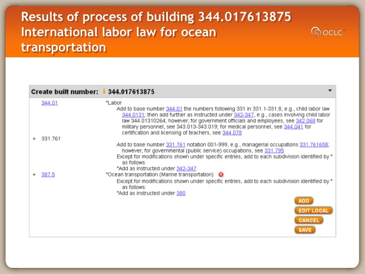 Results of process of building 344.017613875 International labor law for ocean transportation
