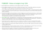 fgibdsr notes on budget of org 1234