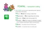 foapal transaction coding