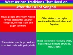 west african traditions that lived on after the fall of songhai