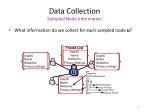 data collection sampled node information