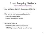 graph sampling methods practical recommendations
