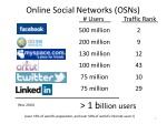 online social networks osns