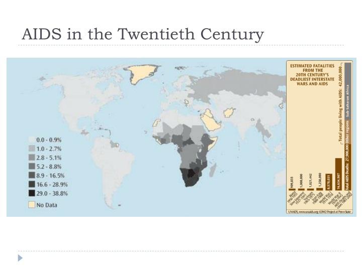 AIDS in the Twentieth Century
