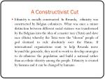 a constructivist cut