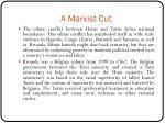 a marxist cut