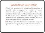 humanitarian intervention1