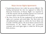 major human rights agreements3