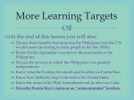 more learning targets