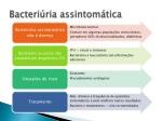 bacteri ria assintom tica