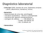diagn stico laboratorial