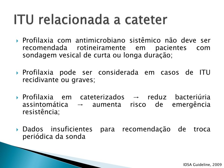 ITU relacionada a cateter