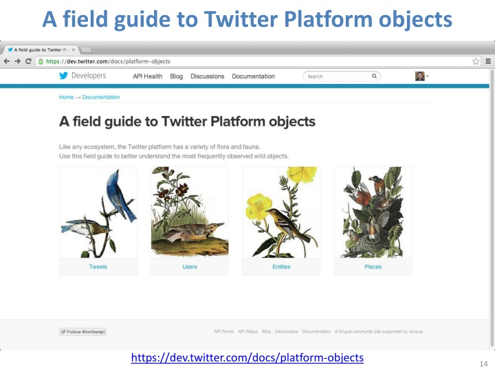 A field guide to Twitter Platform