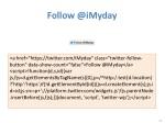 follow @ imyday