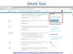 oauth tool