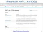 twitter rest api v1 1 resources