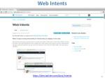 web intents