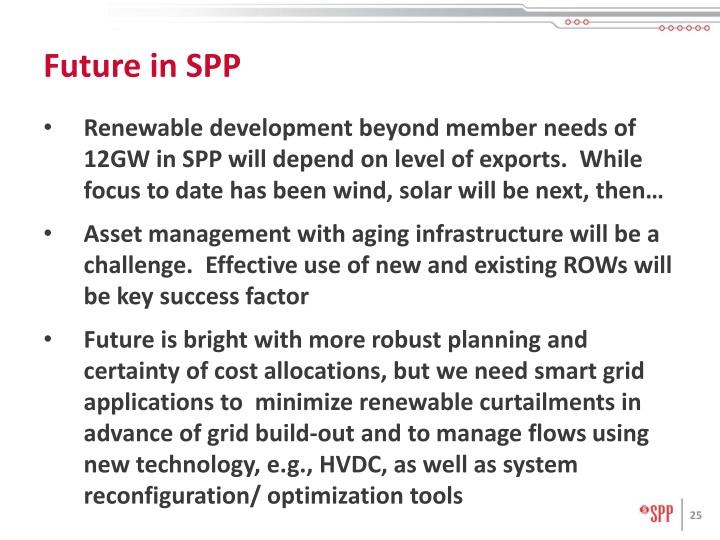 Future in SPP