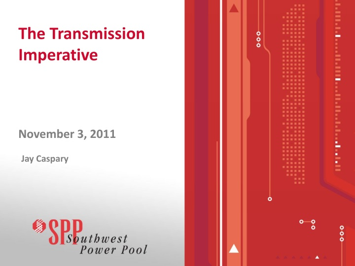 The transmission imperative