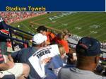 stadium towels