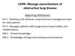 copa manage exacerbations of obstructive lung disease