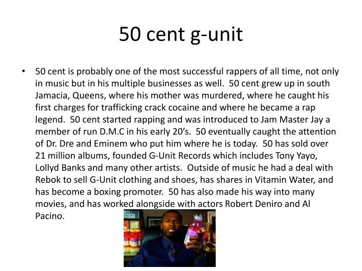50 cent g-unit