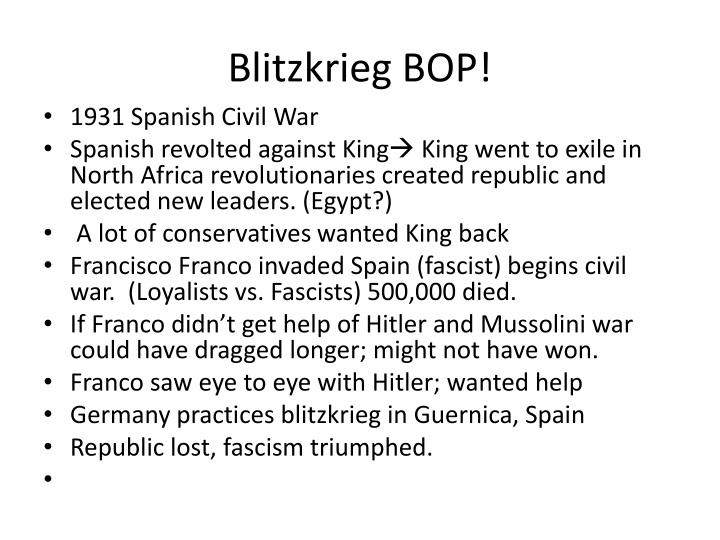 Blitzkrieg BOP!