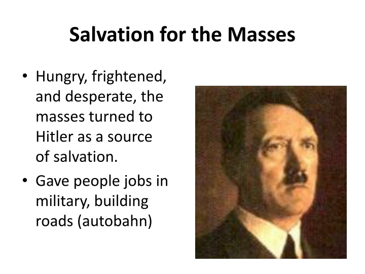 Salvation for the Masses