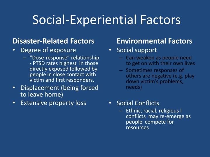 Social-Experiential Factors