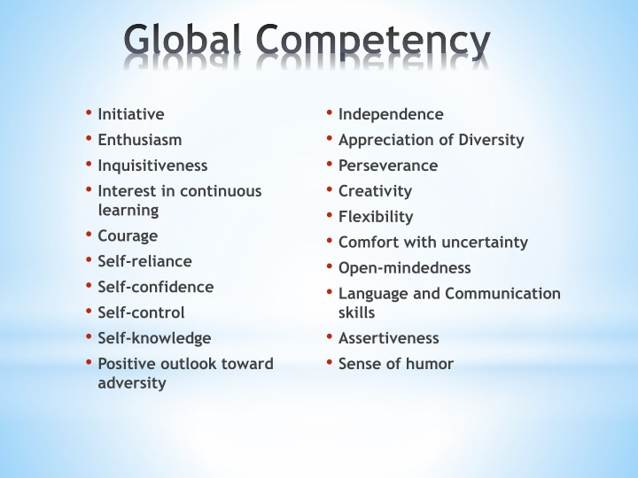 Global Competency