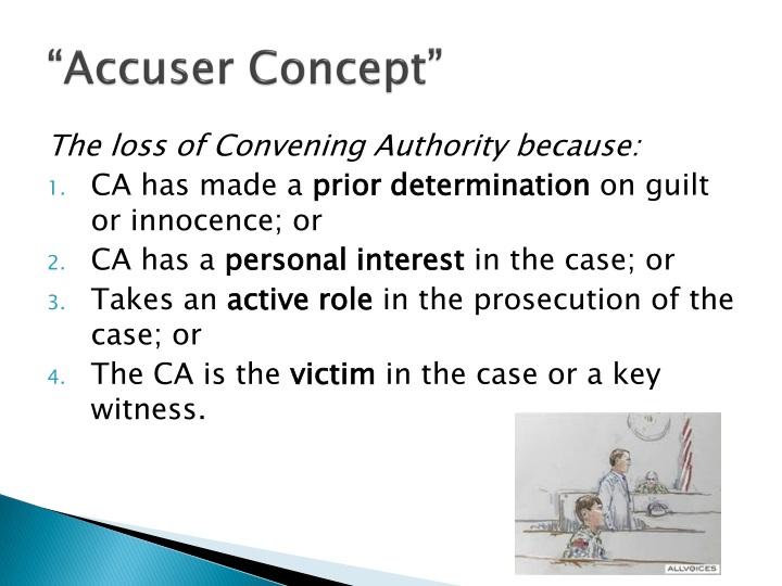 """""""Accuser Concept"""""""