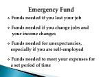emergency fund1