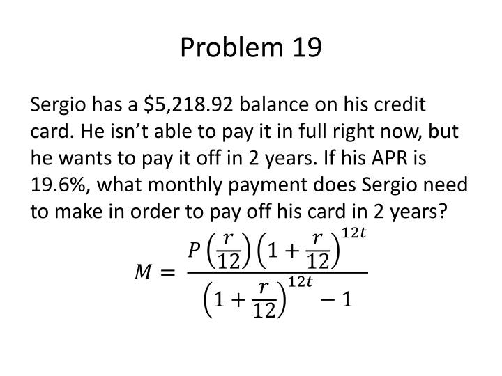 Problem 19