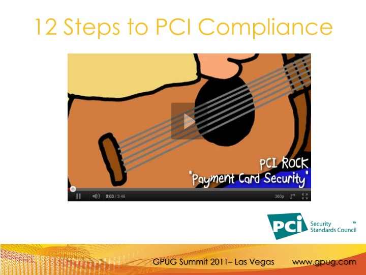 12 Steps to PCI Compliance