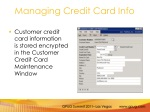 managing credit card info