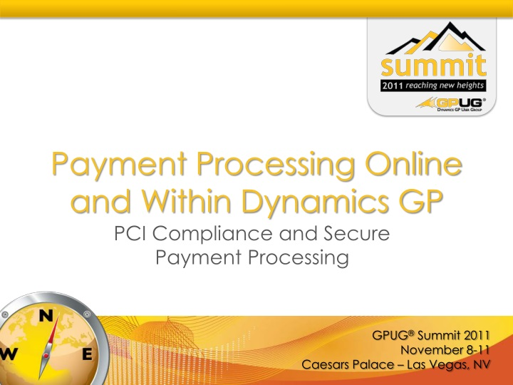 Payment Processing Online and Within Dynamics GP