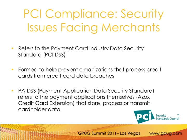 PCI Compliance: Security Issues Facing Merchants