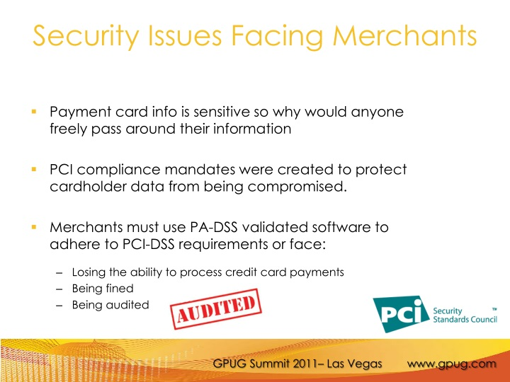 Security Issues Facing Merchants