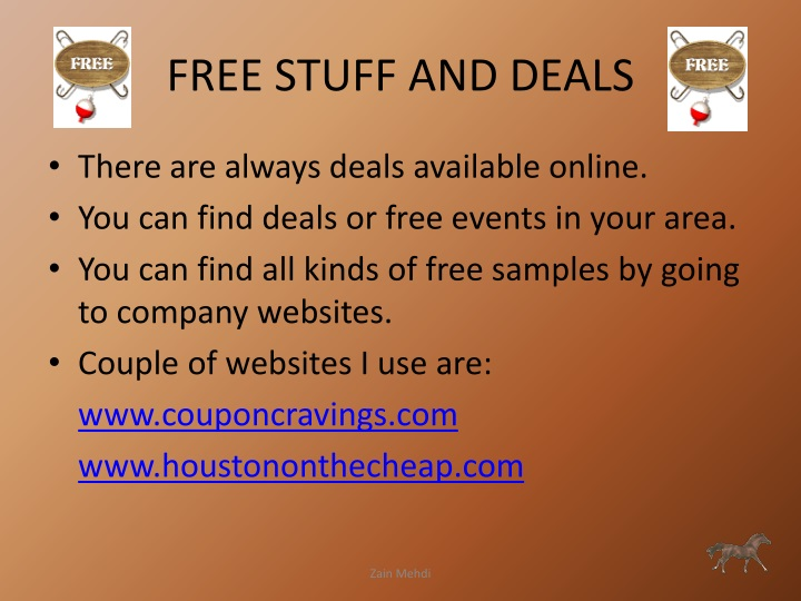 FREE STUFF AND DEALS