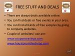 free stuff and deals